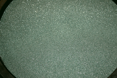 Green sand silicon carbide